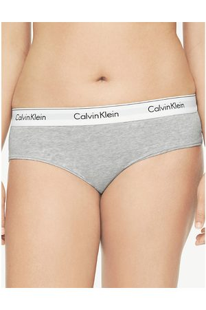 Calvin Klein Plus Modern Cotton cotton-blend hipster briefs