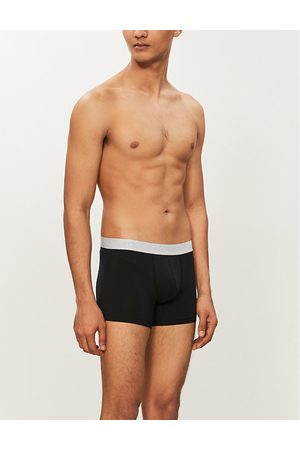 Hanro Pack of two cotton-jersey trunks