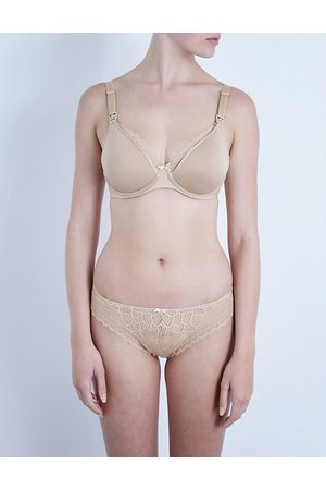 Chantelle Merci jersey and lace maternity bra