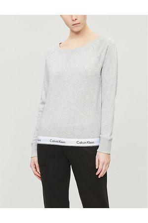 Calvin Klein Modern Cotton cotton-jersey sweatshirt