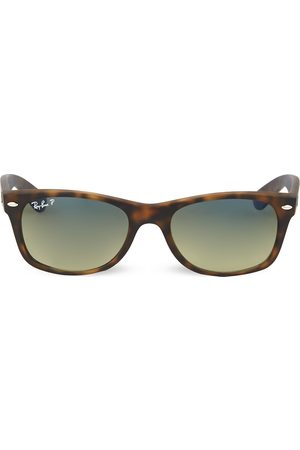 Ray-Ban Tortoiseshell matte finish wayfarer sunglasses RB2132 52