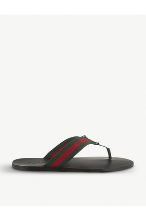 Gucci Web flip-flops, Mens, Size: EUR 40 / 6 UK MEN