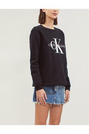 Calvin Klein Logo-print cotton sweatshirt