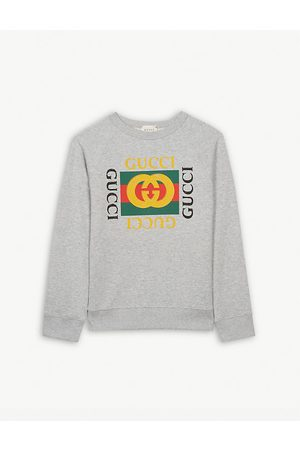 Gucci GG' logo cotton sweatshirt 4-12 years