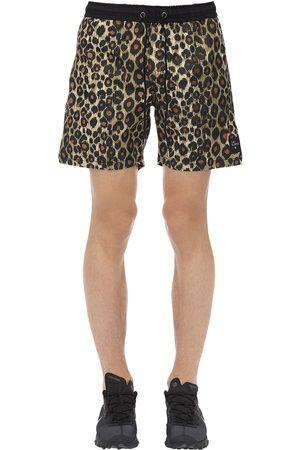 The People Vs Jaguar Print Easy Boardie Shorts
