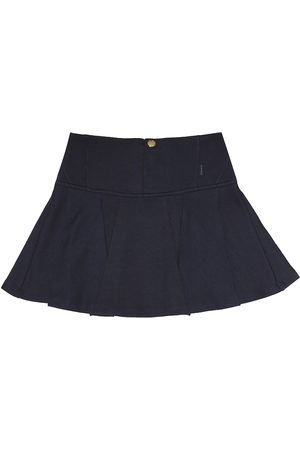 Chloé Stretch cotton blend skirt