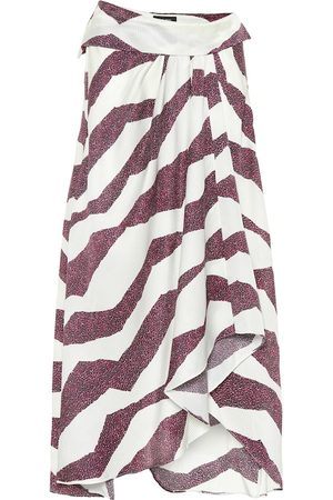 Isabel Marant Rebeca printed silk-blend midi skirt