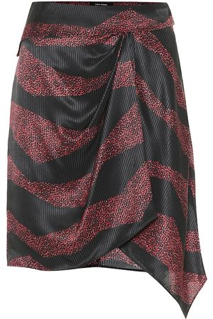 Isabel Marant Rosana printed silk-blend skirt