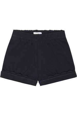 Chloé Baby stretch cotton blend shorts