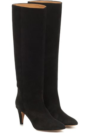 Isabel Marant Latsen suede knee-high boots