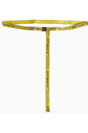 OFF-WHITE Women Belts - Mini industrial tape jacquard belt