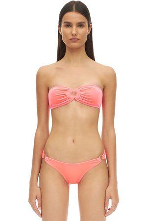 Reina Olga Bandcamp Velvet Bikini Set