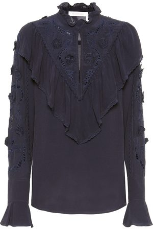 See by Chloé Broderie anglaise blouse