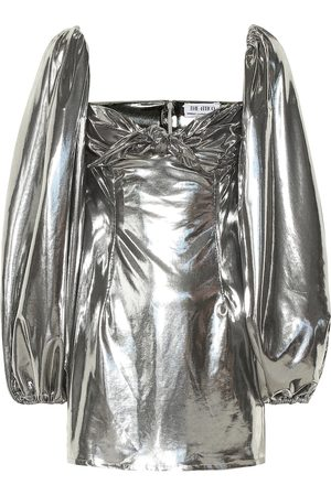 The Attico Metallic minidress