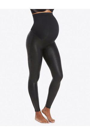 Spanx Women Leggings - Mama faux-leather leggings