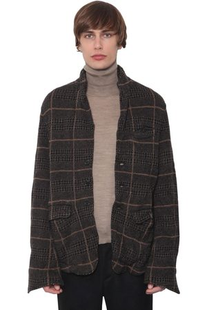 UNDERCOVER Checked Wool Jacket