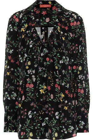 Altuzarra Bowie floral silk blouse