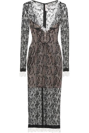 Christopher Kane Embellished lace midi dress