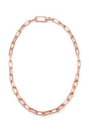 Monica Vinader Rose Gold Alta Capture Charm Necklace