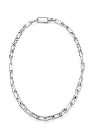 Monica Vinader Women Necklaces - Sterling Silver Alta Capture Charm Necklace
