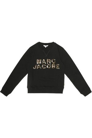Marc Jacobs Embellished cotton-jersey sweatshirt