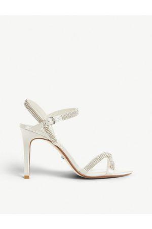 Dune Madallenna embellished heeled sandals