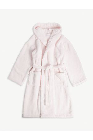 The Little White Company Girls Bathrobes - Whisper hydrocotton robe 5-12 years