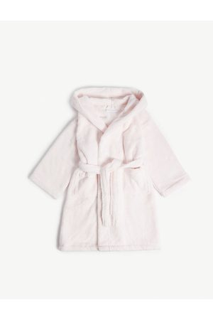 The Little White Company Girls Evening dresses - Bear ears hydrocotton dressing gown 2-5 years