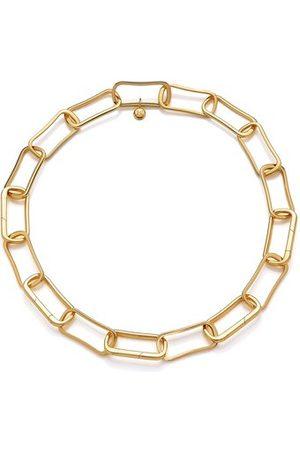 Monica Vinader Women Necklaces - Gold PRE-ORDER Alta Capture Large Link Necklace