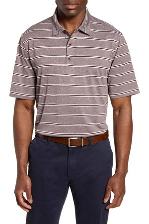 Cutter & Buck Men's Forge Stripe Jersey Polo