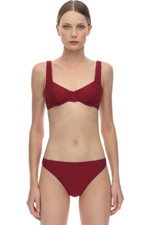 Peony Sangria Balconette Bikini Top