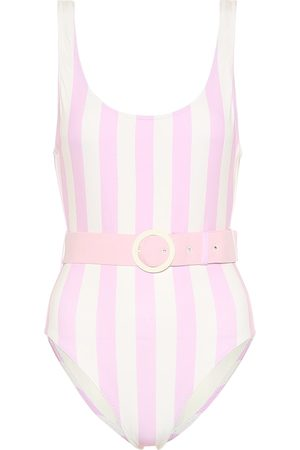 Solid The Anne-Marie belted swimsuit