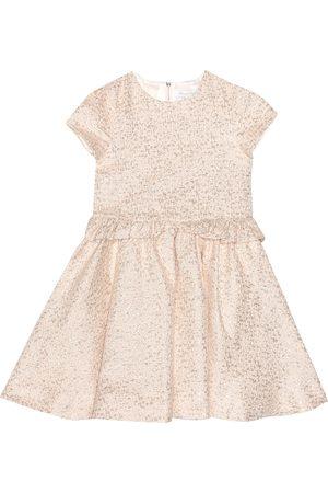 Tartine Et Chocolat Metallic jacquard dress