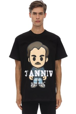 Ih Nom Uh Nit Pablo Printed Cotton Jersey T-shirt
