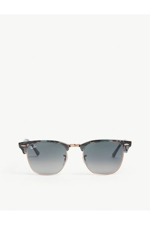 Ray-Ban RB3016 Clubmaster square-frame sunglasses