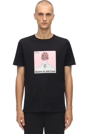 Neil Barrett Printed Head Cotton Jersey T-shirt
