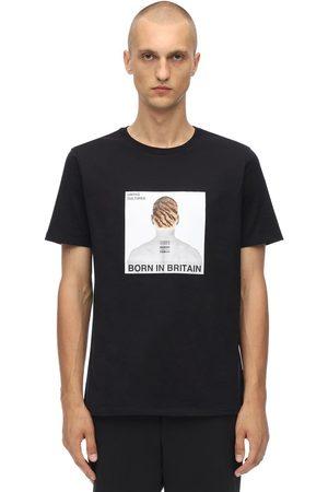 Neil Barrett Printed Head Cotton Jersey T-shirt