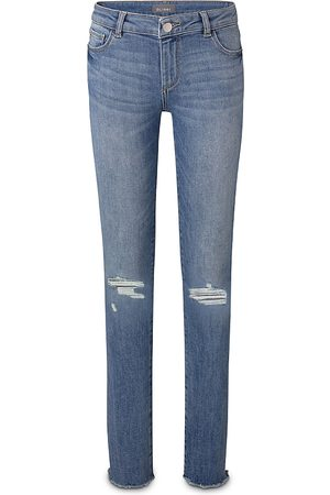 Dl 1961 Girls' Chloe Ripped Skinny Jeans - Big Kid