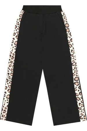 MONNALISA Stretch-cotton trackpants