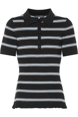 AlexaChung Striped wool shirt