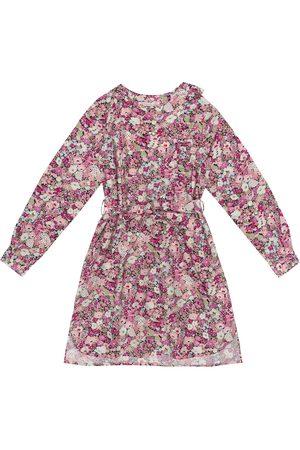 BONPOINT Floral cotton-poplin dress