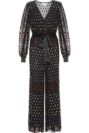 TEMPERLEY LONDON Wendy sequined tulle jumpsuit