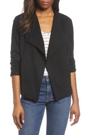 Caslon Women's Caslon Drape Collar Knit Blazer