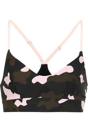 The Upside Forest Camo Zoe sports bra