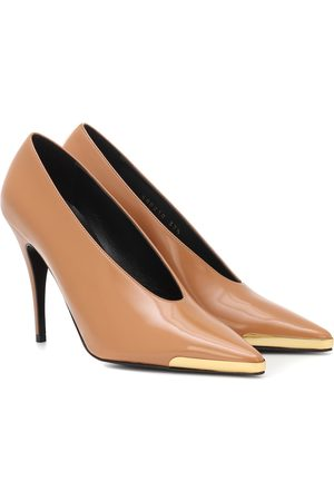 Stella McCartney Patent faux leather pumps