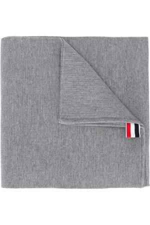 Thom Browne Milano stitch scarf - Grey