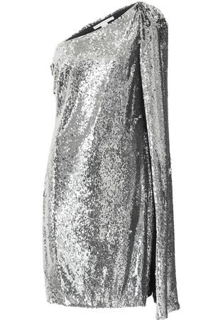 Stella McCartney One-shoulder sequined minidress