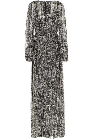 Stella McCartney Silk and metallic maxi dress