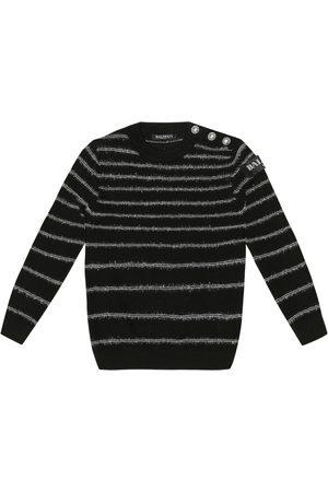 Balmain Striped wool sweater