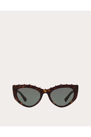 VALENTINO Women Sunglasses - Cat-eye Acetate Sunglasses With Studs Women OneSize